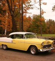 Fall foliage and Bills Chevy